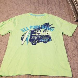 Chaps boys medium tshirt